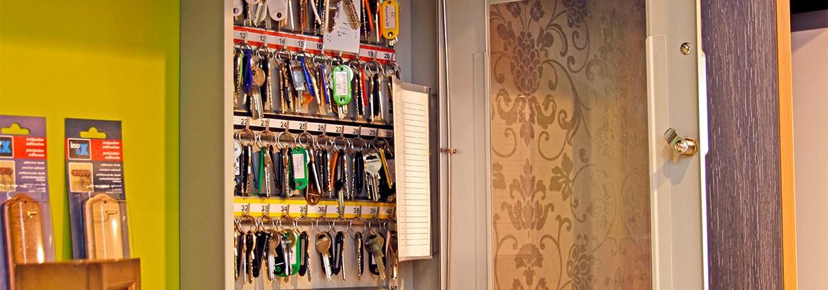Ormarići za ključeve i poštanski sandučići